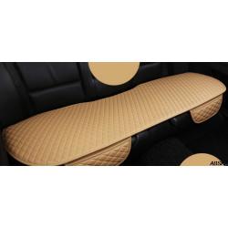 Накидка на заднее сиденье из искусственной кожи 130х50 см