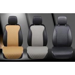 Накидка на переднее сиденье из искусственной кожи 40х126 см