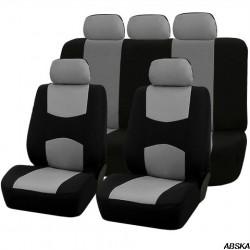 Универсальные чехлы на сиденья автомобиля 2-цветные