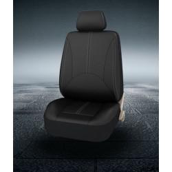 Универсальные чехлы на сиденья автомобиля из экокожи, комплект.