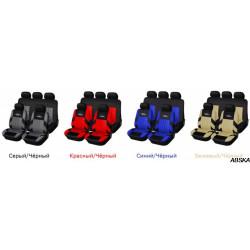 Универсальные чехлы на сиденья автомобиля с рисунком «протектора шины»