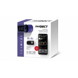 Автосигнализация Pandect X-1800BT 2CAN+GSM+SLAVE+брелок-метка BT-760+интернет сервис