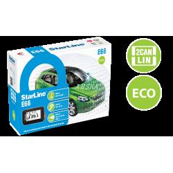 Автосигнализация StarLine E66 2Can+2Lin Eco