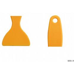 Шпатель пластиковый округлый