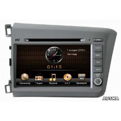 Штатная магнитола INTRO CHR-3612 CV для Honda Civic 4d sedan (2012 - 2013)