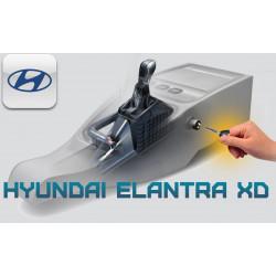 """Блокиратор КПП Hyundai Elantra XD """"ГАРАНТ КОНСУЛ"""""""