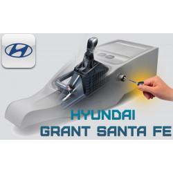 "Блокиратор КПП Hyundai Grand Santa FE ""ГАРАНТ КОНСУЛ"""