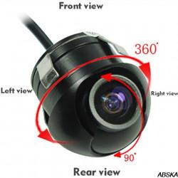 Задняя камера врезная «поворотная»