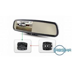 Зеркало заднего вида Gazer со встроенным монитором Gazer MU500/MU700 + Gazer MB009