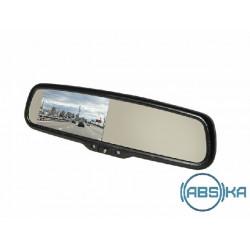 Зеркало заднего вида Gazer со встроенным регистратором и монитором  Gazer MUR5100/MUR7100 + Gazer MB014