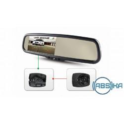 Зеркало заднего вида Gazer со встроенным монитором Gazer MU500/MU700 + Gazer MB017