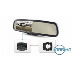 Зеркало заднего вида Gazer со встроенным монитором Gazer MU500/MU700 + Gazer MB016