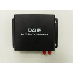 Автомобильный универсальный 2-х антенный цифровой ТВ-тюнер DVB-T2