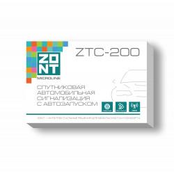 ZTC-200 Спутниковая автомобильная сигнализация