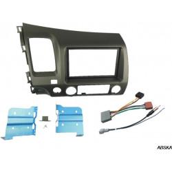 Рамка под мультимедийную систему для Honda Civic седан 2007-2011 8 поколение + рест