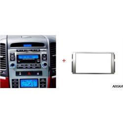 Рамка под мультимедийную систему для Hyundai Santa Fe 2006-2012