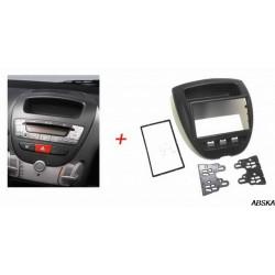 Рамка под мультимедийную систему для CITROEN C1 2005-2014, Toyota Aygo 2005-2014, PEUGEOT (107) 2005-2014
