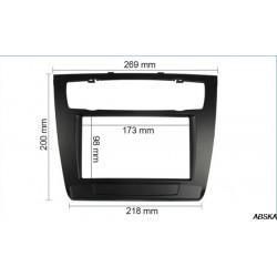 Рамка под мультимедийную систему для BMW E81/E82/E87/E88 2004-2013