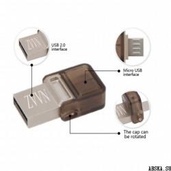Карта памяти универсальная USB-MicroUSB «малышка» 32GB