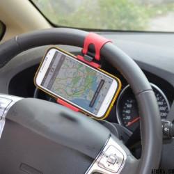 Автомобильный держатель телефонов «рулевой»
