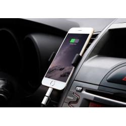 Автомобильный держатель телефонов на дефлектор обдува