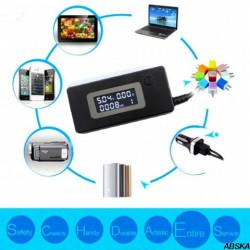 Цифровой тестер USB 3в1 вольтметр, амперметр, измеритель емкости (V, A, mAh)