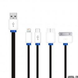 Универсальный USB разветвитель 4 в 1 для Apple