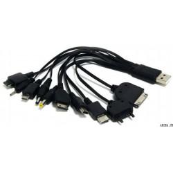 Универсальный USB переходник 10 в 1